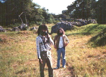 Dumi and Me in Great Zimbabwe